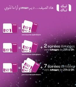 recharge inwi gratuit